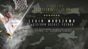 Bilety na mecz z Basketem Poznań