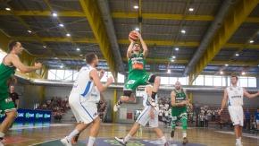Końcówka meczu Legii z Basketem Poznań (VIDEO)