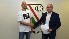 Grzegorz Kukiełka zostaje w Legii na kolejny sezon