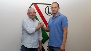 Łukasz Wilczek przedłużył kontrakt z Legią