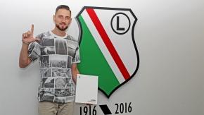 Aleksandrowicz zostaje w Legii na kolejny sezon
