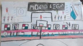 Narysuj jak kibicujesz koszykarzom Legii - rozstrzygnięcie konkursu