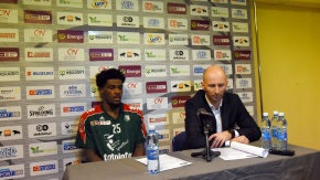Konferencja prasowa po meczu BM Slam Stal - Legia (VIDEO)