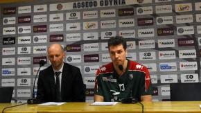 Konferencja prasowa po meczu Asseco Gdynia - Legia (VIDEO)