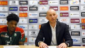 Konferencja po meczu Legia - Miasto Szkła (VIDEO)