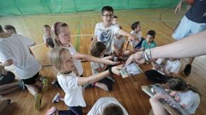 Legioniści poprowadzili zajęcia z uczniami szkoły w Wilanowie
