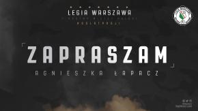 Zapraszam: Agnieszka Łapacz