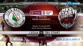 Skrót meczu Legia - TBV Start