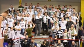 Doping kibiców na meczu Legia - Arka (VIDEO)