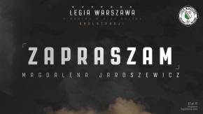 Zapraszam: Magdalena Jaroszewicz