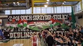 Oprawy kibiców na meczu Legia - Spójnia (VIDEO)
