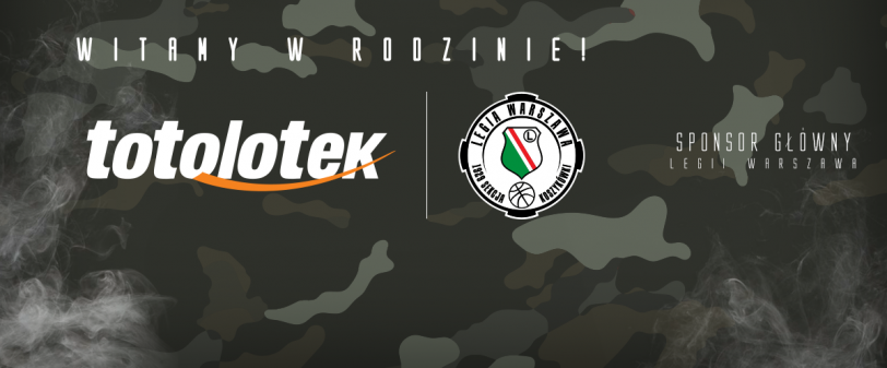 Totolotek głównym sponsorem Legii Warszawa