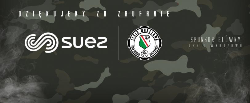 Grupa SUEZ nadal głównym sponsorem Legii Warszawa