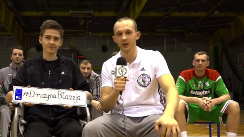 Legia dołączyła do Drużyny Błażeja (VIDEO)